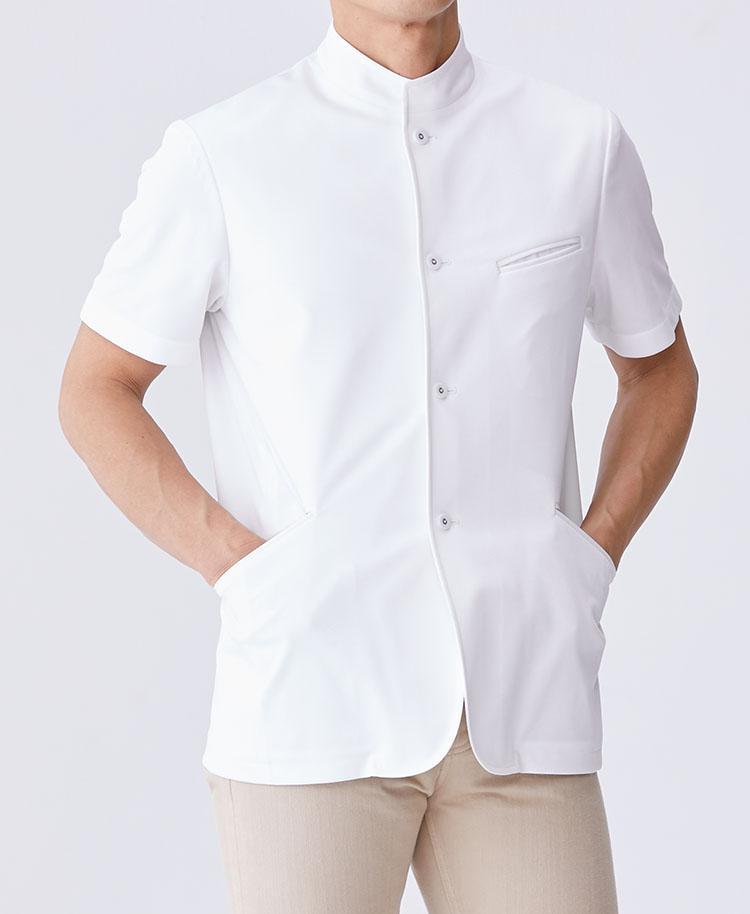 Men's Lab Coat: Classico Casey Cool Tech Men's Lab Coat- Classico