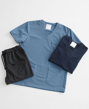 Men's Surgical Gowns: Scrub Tops & Linen Like