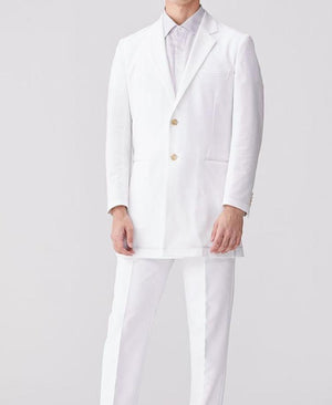 Men's Lab Coat: Jersey Short Coat LUXE