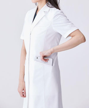 Women's Lab Coat: Short-Sleeve Coat Cool Tech Women's Lab Coat- Classico