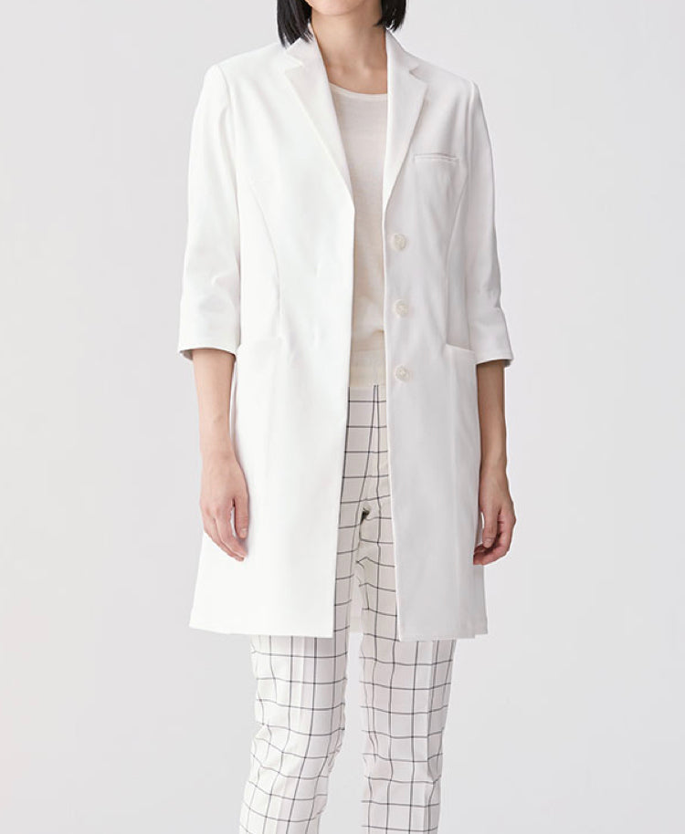Women's Lab Coat: Light Flare Coat