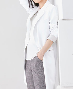 Women's Lab Coat: Jersey Double Coat LUXE