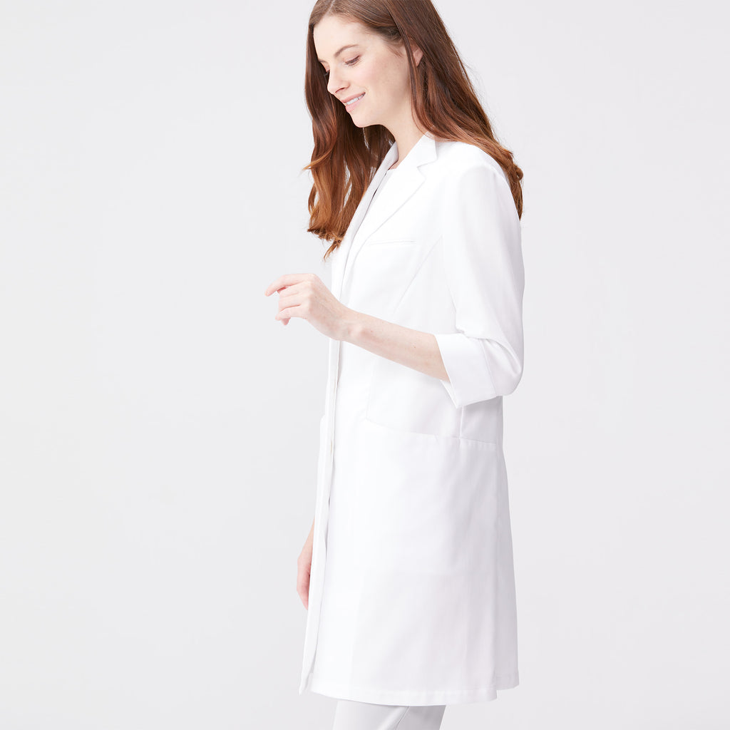 Classico Women's Lightweight Lab Coat White Medical > Lab coats > White Coat > Light weight Lab Coat> Womens- Classico