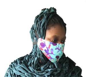 Reusable, 3-Layer, Padded Print Facemask (Pack of 3)