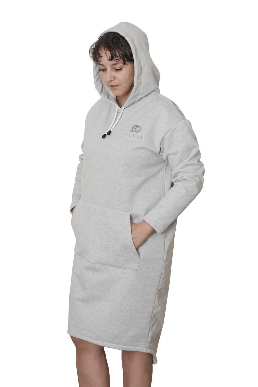 LLYLA Sweatshirt/Hoodie Dress