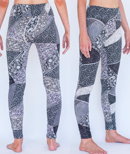 Faux-Scuba Yoga Pants