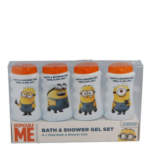 Illumination Entertainment Despicable Me Minion Made Bath and Shower Gel 4x75ml
