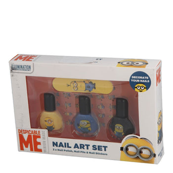 Illumination Entertainment Despicable Me Minion Made Nail Art Set~3-Stück