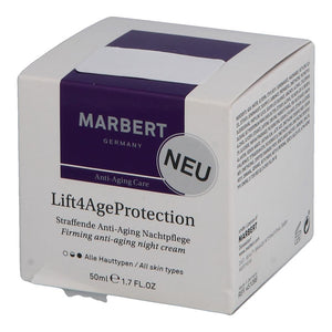 Marbert Lift4AgeProtection straffende Anti-Aging Nachtpflege (50 ml)