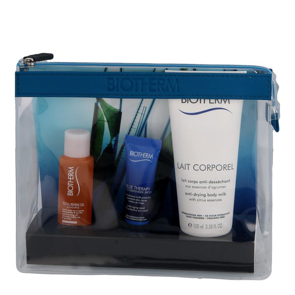 Biotherm Blue Therapy Travel Kit mit Multi Defender~10ml-30ml-100ml