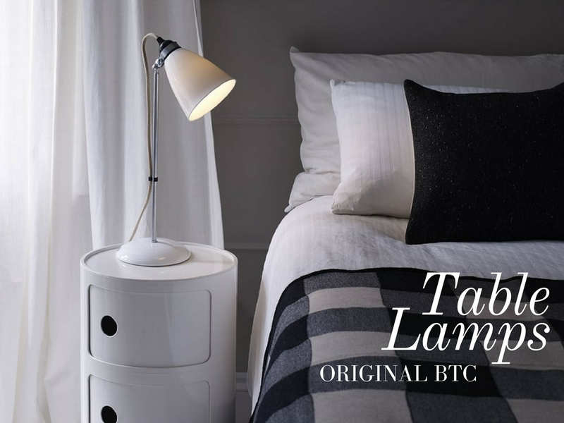 All About Table Lamps - The Original BTC Way