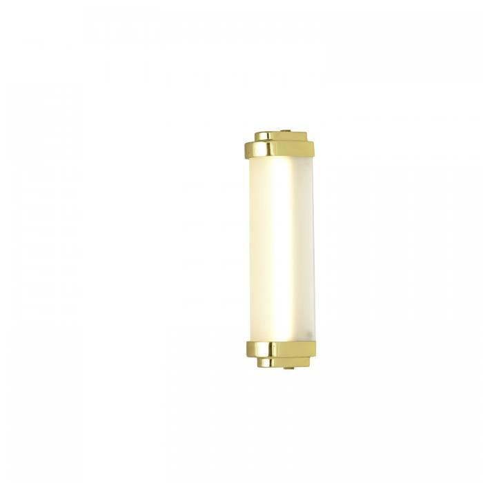 Davey Lighting Lighting Cabin LED Wall Light: 28Cm: Polished Brass By Davey Lighting