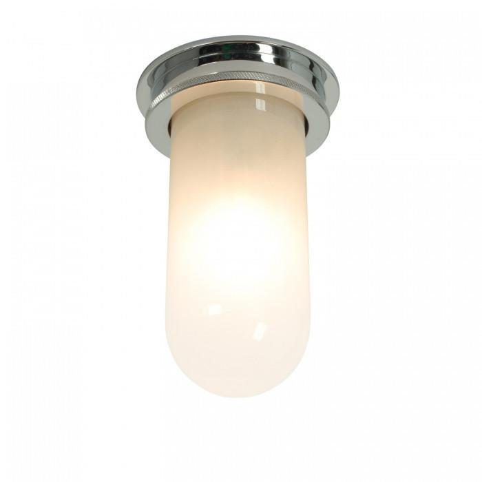 Davey Lighting Lighting Ship's Companionway Light: Chrome: Frosted Glass By Davey Lighting