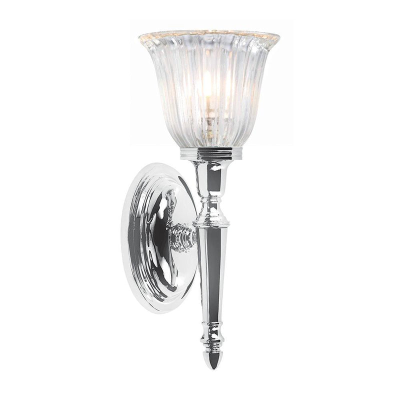 Elstead Lighting Lighting Bathroom Dryden1 Polished Chrome by Elstead Lighting