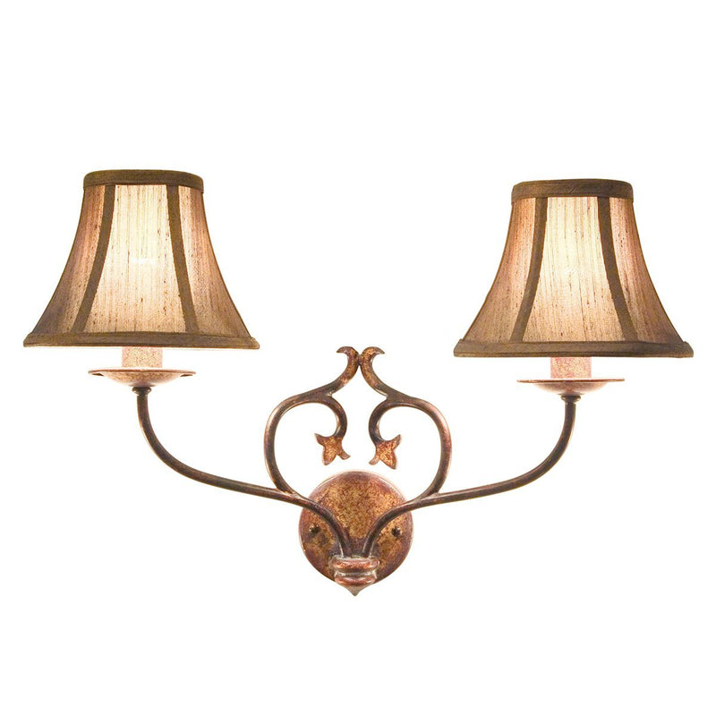 Elstead Lighting Lighting Coniston 2lt Wall Light Burnished Gold by Elstead Lighting
