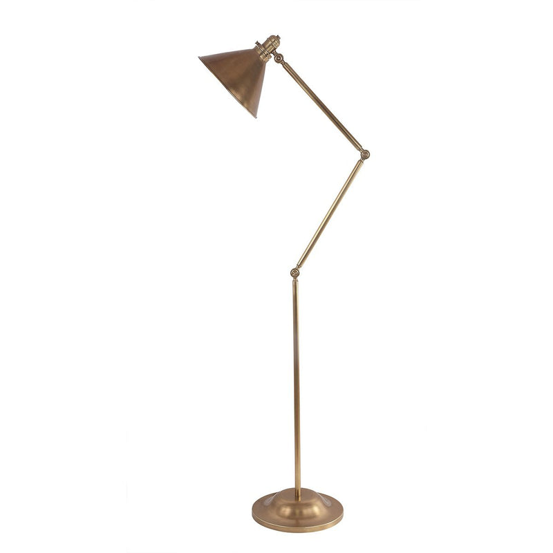 Elstead Lighting Lighting Provence 1lt Floor Lamp Aged Brass by Elstead Lighting
