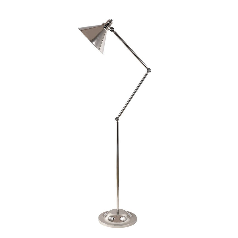 Elstead Lighting Lighting Provence 1lt Floor Lamp Polished Nickel by Elstead Lighting