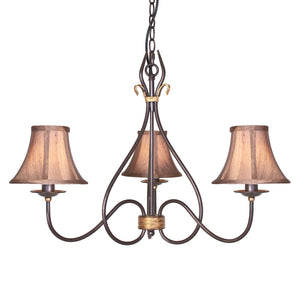 Elstead Lighting Lighting Windermere 3lt Chandelier by Elstead Lighting