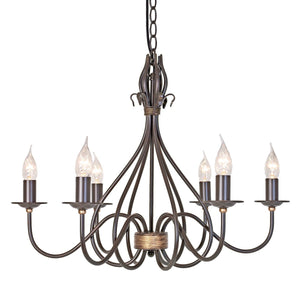 Elstead Lighting Lighting Windermere 6lt Chandelier by Elstead Lighting