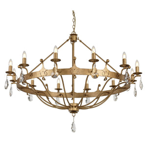 Elstead Lighting Lighting Windsor 12lt Chandelier by Elstead Lighting