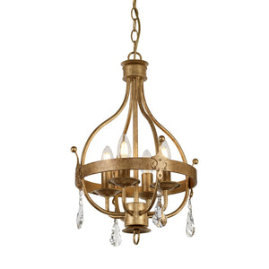 Elstead Lighting Lighting Windsor 4lt Pendant by Elstead Lighting