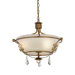 Elstead Lighting Lighting Windsor Semi Flush Light by Elstead Lighting
