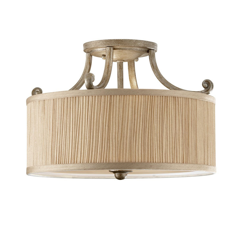 Feiss Lighting Abbey Semi-Flush Light by Feiss