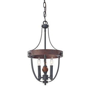 Feiss Lighting Alston 3lt Chandelier by Feiss