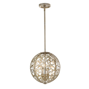 Feiss Lighting Arabesque 3lt Chandelier by Feiss