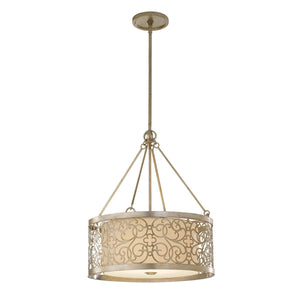 Feiss Lighting Arabesque 4lt Chandelier by Feiss