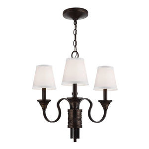Feiss Lighting Arbor Creek 3lt Chandelier by Feiss
