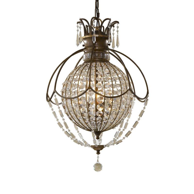 Feiss Lighting Bellini 3lt Chandelier by Feiss
