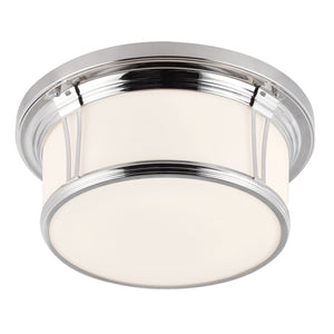 Feiss Lighting Woodward Large Flush Mount by Feiss