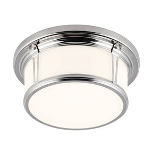 Feiss Lighting Woodward Medium Flush Mount by Feiss