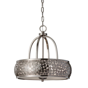Feiss Lighting Zara 4lt Chandelier by Feiss