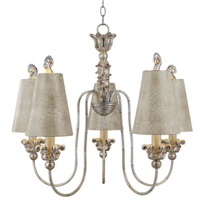 Flambeau Lighting Remi 5lt Chandelier by Flambeau