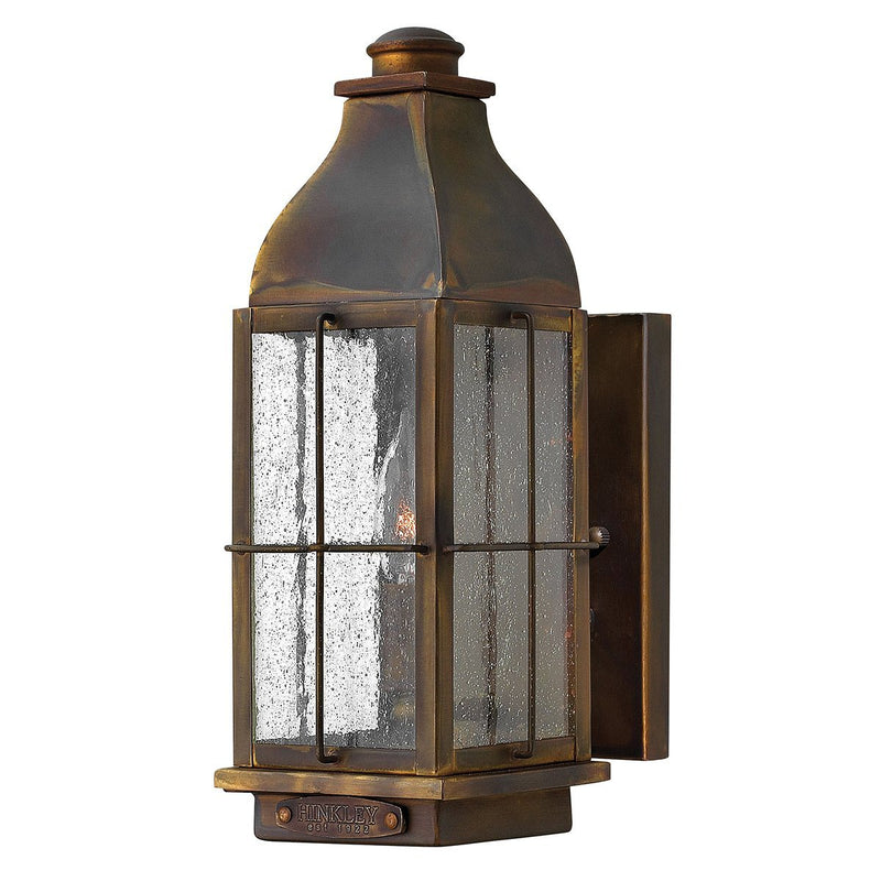 Hinkely Lighting Lighting Bingham 1lt Small Wall Lantern by Hinkely Lighting