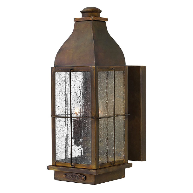 Hinkely Lighting Lighting Bingham 3lt Medium Wall Lantern by Hinkely Lighting