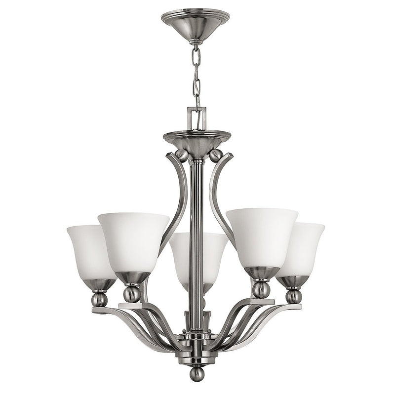 Hinkely Lighting Lighting Bolla 5lt Chandelier by Hinkely Lighting