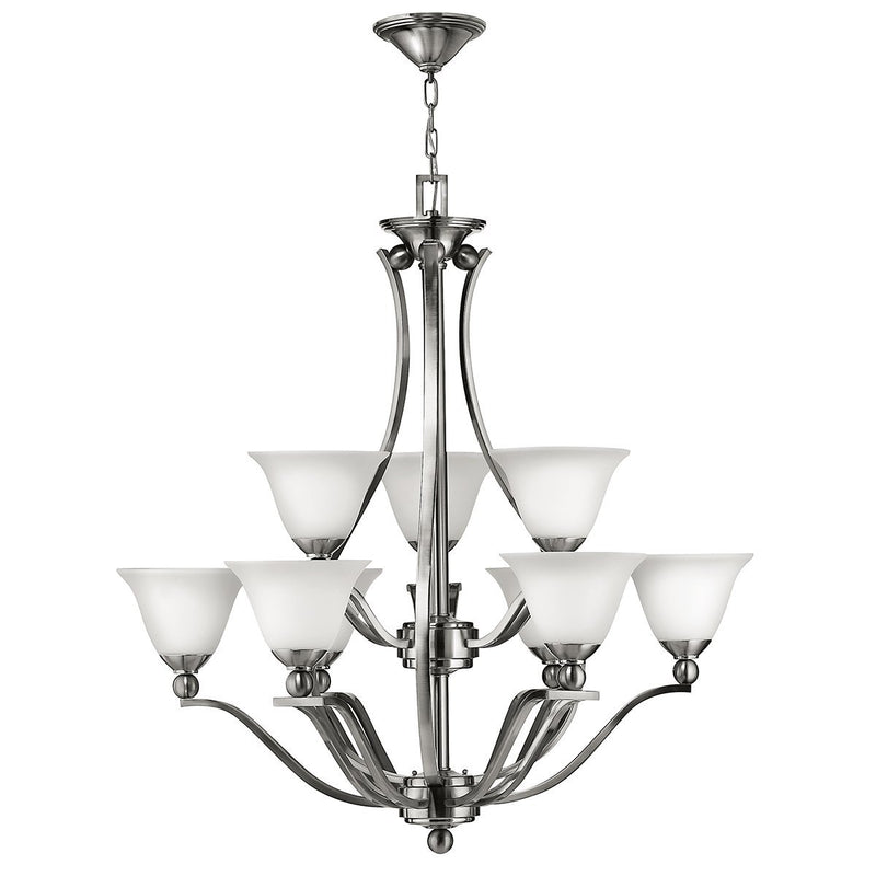 Hinkely Lighting Lighting Bolla 9lt Chandelier by Hinkely Lighting