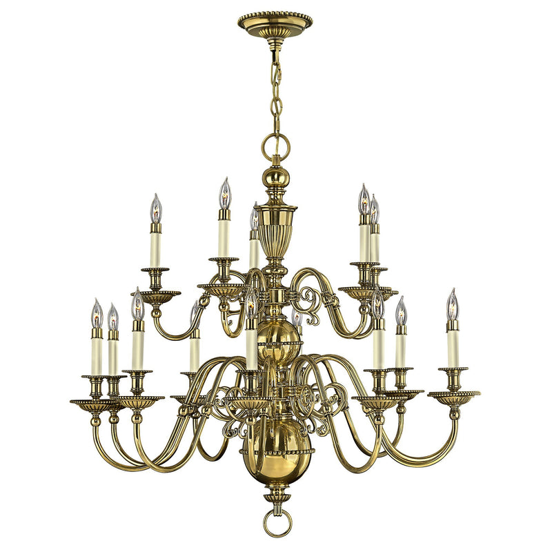 Hinkely Lighting Lighting Cambridge 15lt Chandelier by Hinkely Lighting