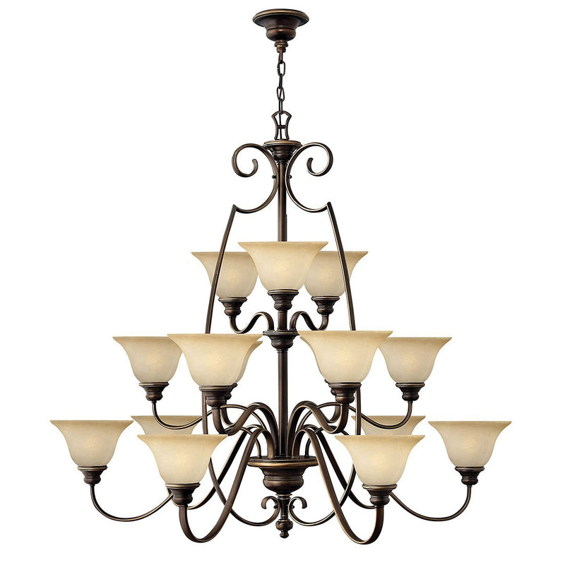 Hinkely Lighting Lighting Cello 15lt Chandelier by Hinkely Lighting