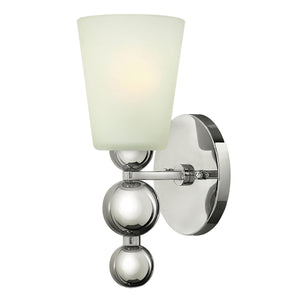 Hinkely Lighting Lighting Zelda 1lt Wall Light Polished Nickel by Hinkely Lighting