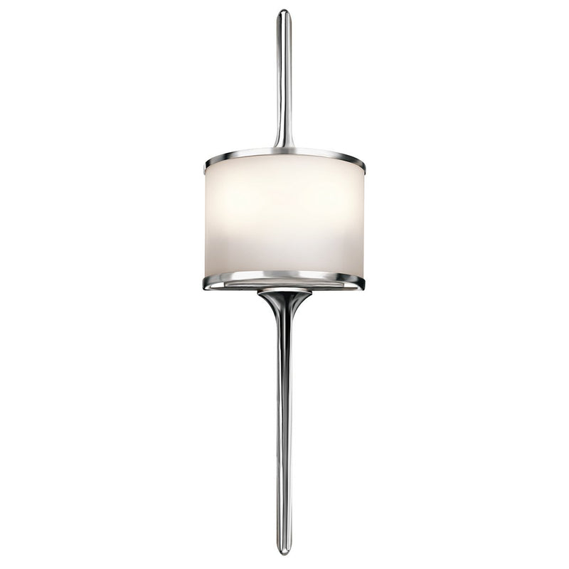 Kichler Lighting Mona 2lt Wall Light Polished Chrome by Kichler