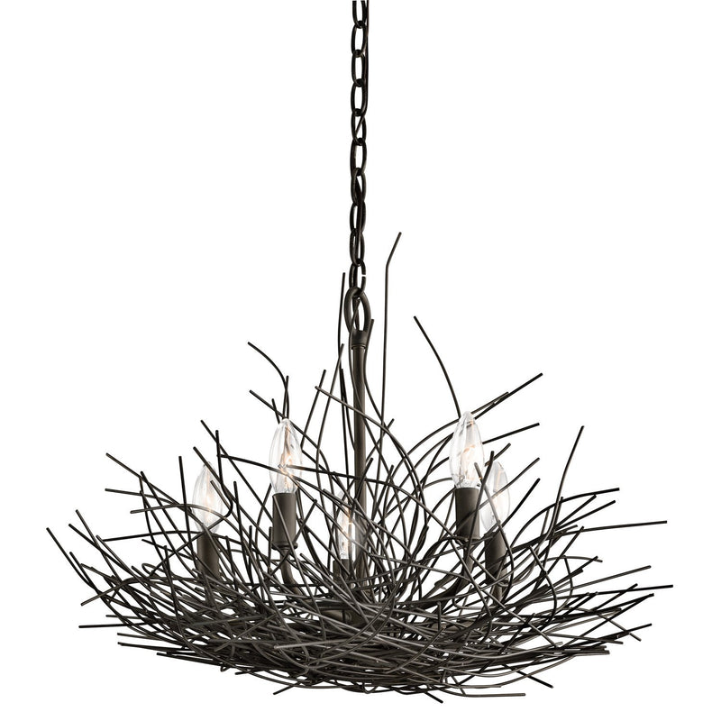 Kichler Lighting Organique 5lt Chandelier by Kichler