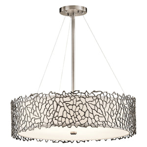 Kichler Lighting Silver Coral Pendant by Kichler