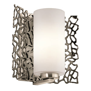 Kichler Lighting Silver Coral Wall Light by Kichler