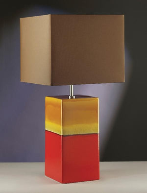 Luis Collection Lighting Alba Rouge Table Lamp by Luis Collection