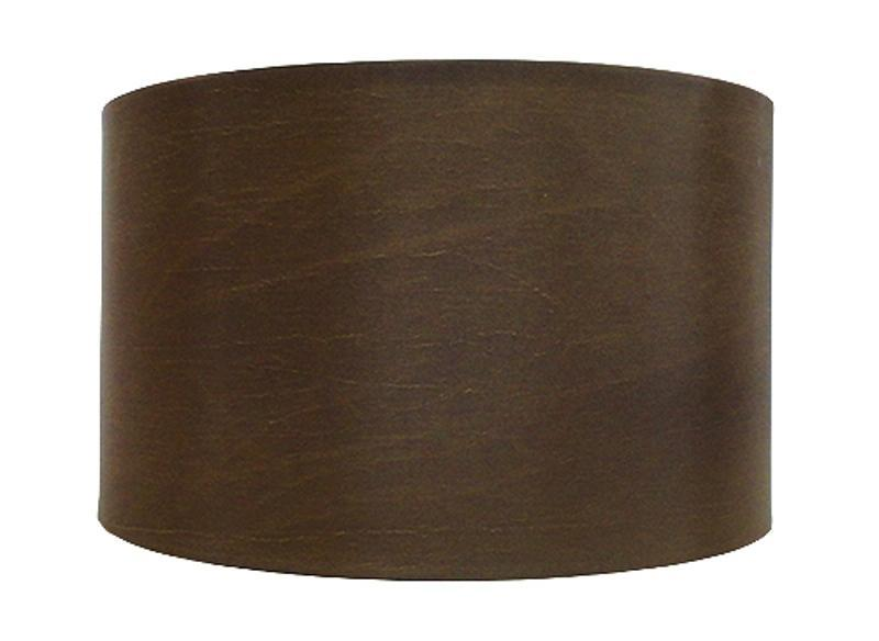 Luis Collection Lighting Brown 34cm Cylinder Shade by Luis Collection