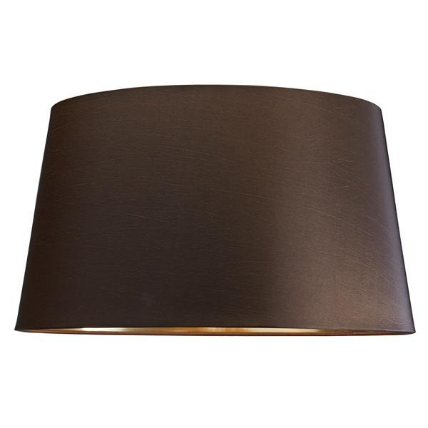 Luis Collection Lighting Brown 43cm Shade With Gold Lining by Luis Collection